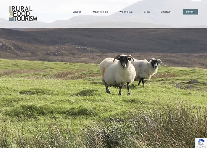 Rural Food Tourism website