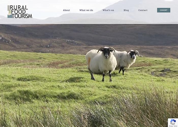 Rural Food Tourism website