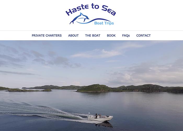 Haste to Sea website