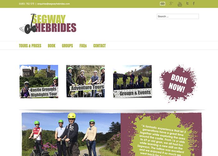 Segway Hebrides website